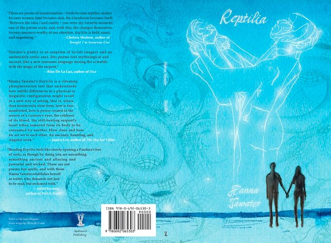 "Introducing ""Reptilia"", a poetry debut from Hanna Tawater"
