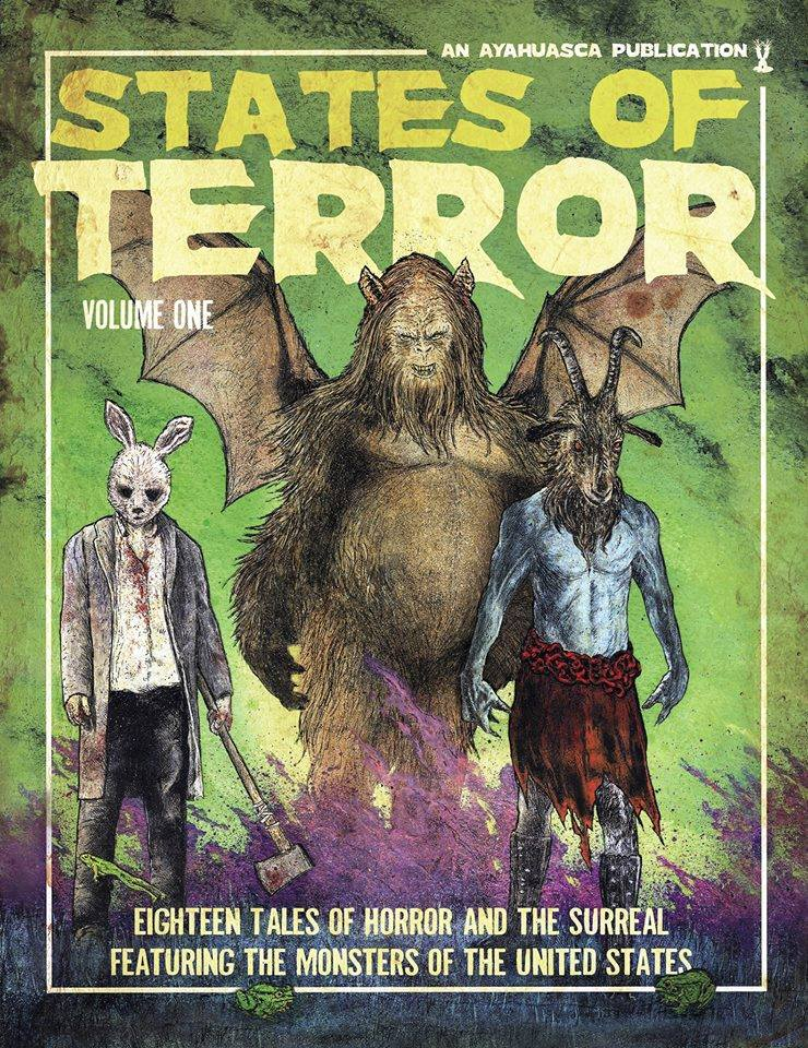 States of Terror Vol.1 Goodreads Giveaway
