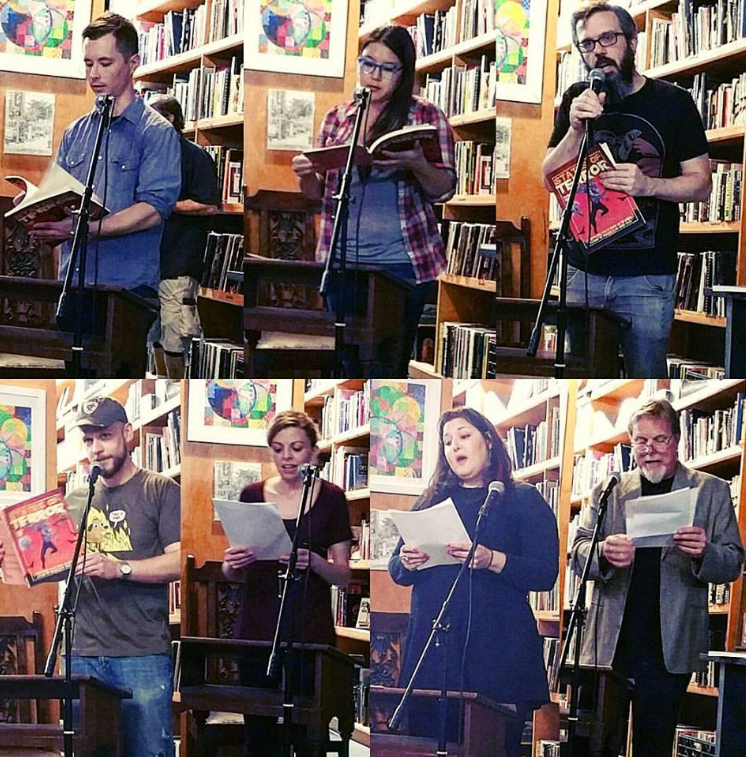 SOT3 Show at Verbatim Books