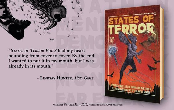 States of Terror Vol.3 - Weekly Blurb Countdown #3: Lindsay Hunter!