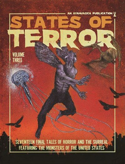 States of Terror Vol. 3 - Cover Reveal & Author List!